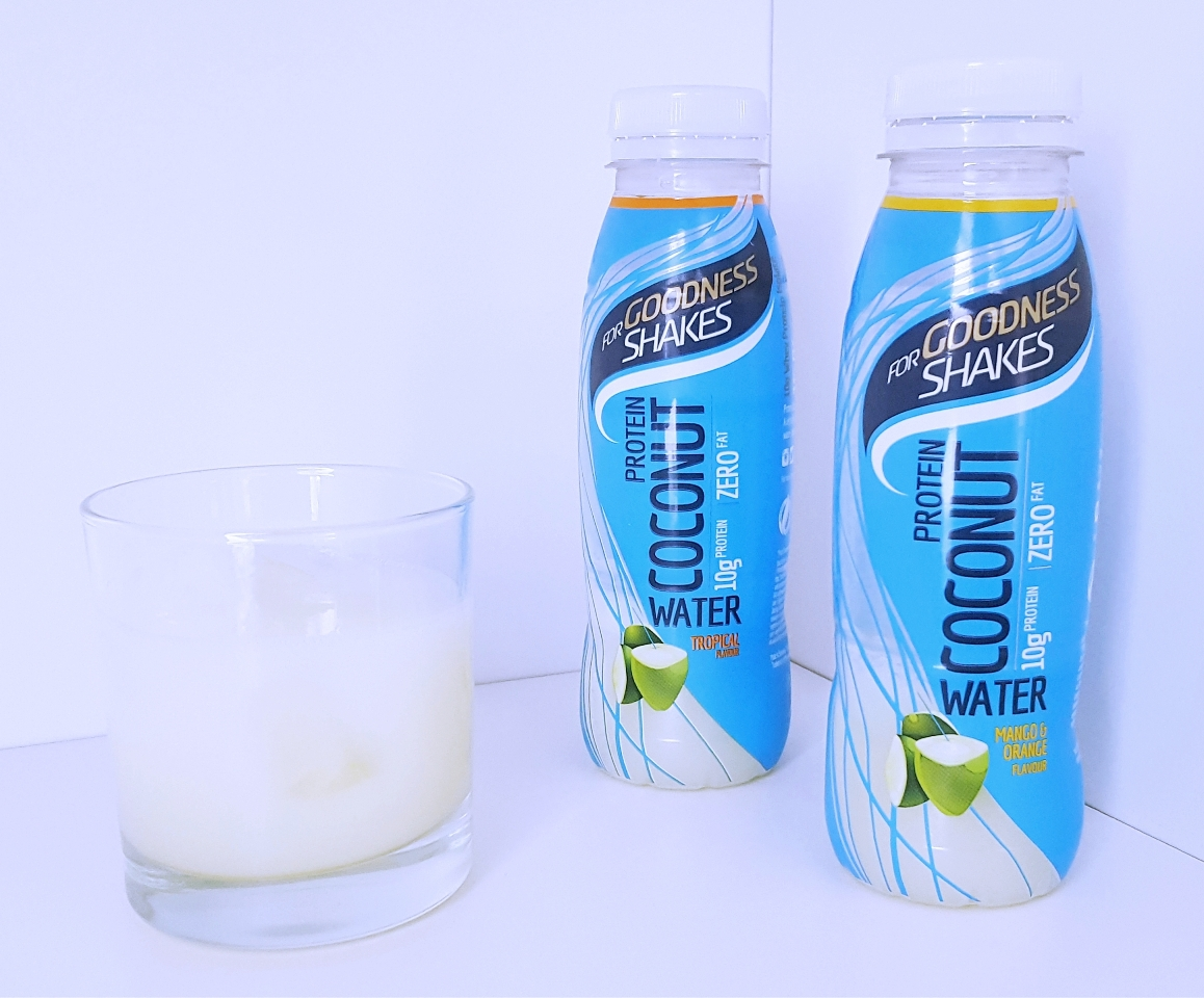 Refreshing Protein Coconut Water  |  Goodness Shakes