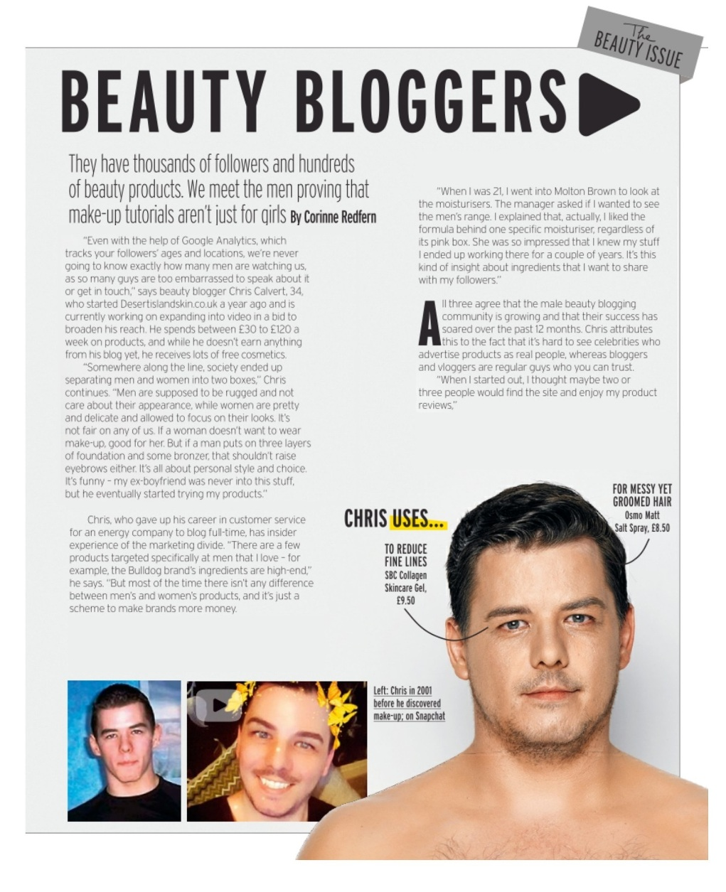The Rise Of The Male Beauty Blogger | Fabulous Magazine