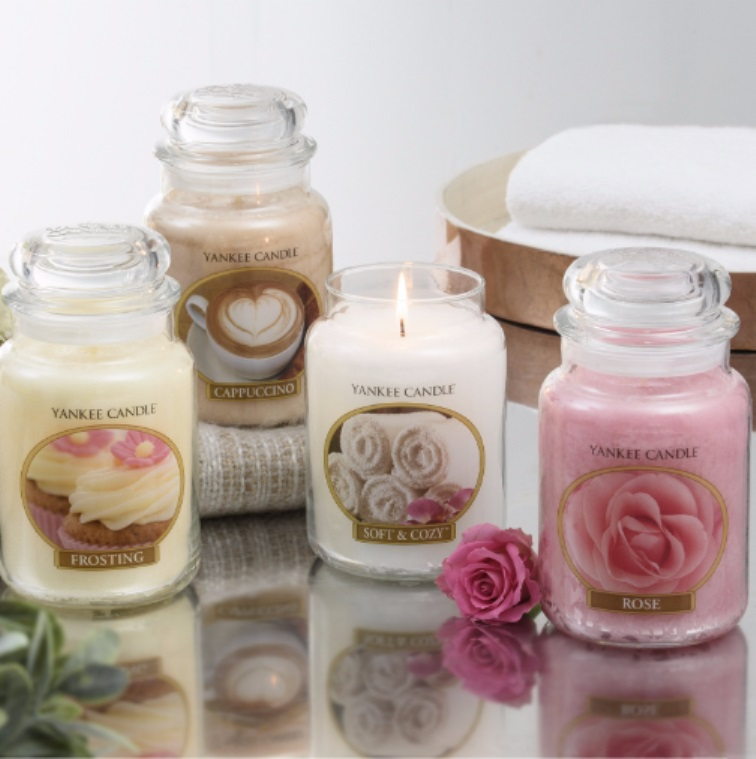 Yankee Candle Set of 4 USA Special Collectors Edition TSV on QVCUK 29th October 2016