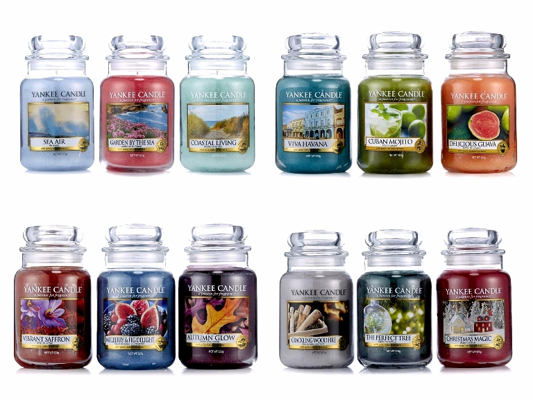 Yankee Candle Coastal Living TSV QVCUK March 2017