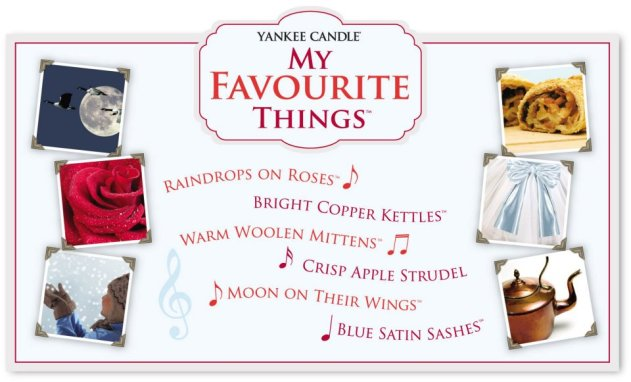 Yankee Candle My Favourite Things TSV on QVCUK 14th September 2017