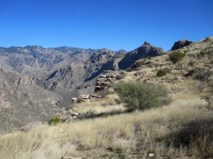 Sabino Canyon from Blackett's Ridge.