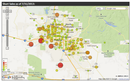 Short Sales - Foreclosures - July 2013