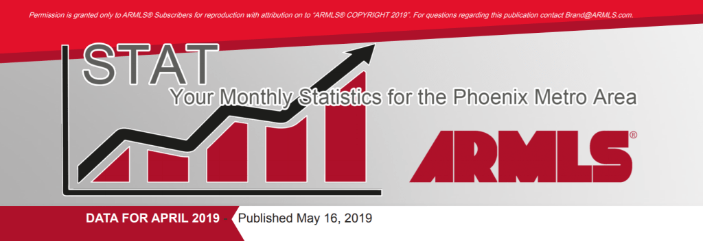 Real Estate Market Statistics May 2019 Phoenix