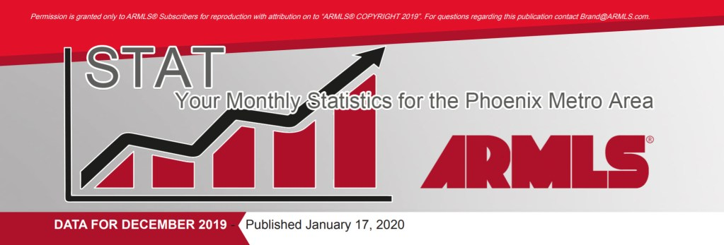 Real Estate Market Statistics January 2020 Phoenix - Hunter Clark and Nathan Mitchell