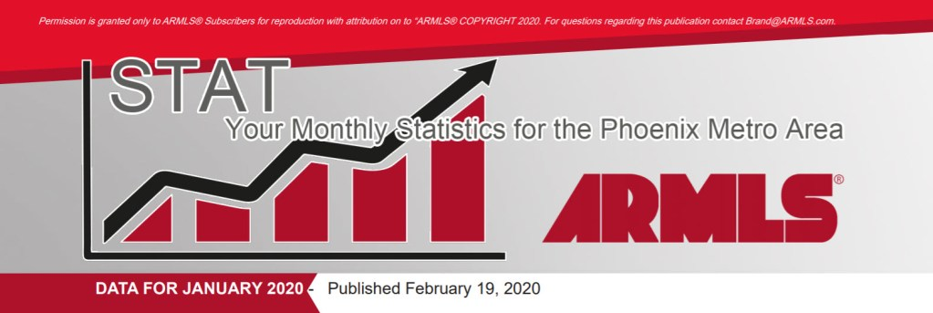 Real Estate Market Statistics February 2020 Phoenix - Hunter Clark and Nathan Mitchell