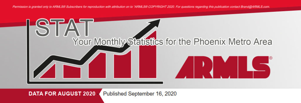 Real Estate Statistics September 2020 Phoenix - Hunter Clark and Nathan Mitchell