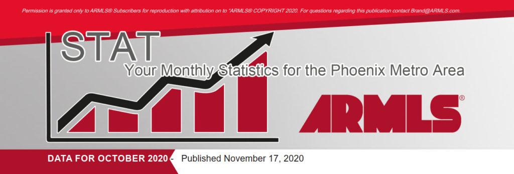 Real Estate Statistics November 2020 Phoenix - Hunter Clark and Nathan Mitchell
