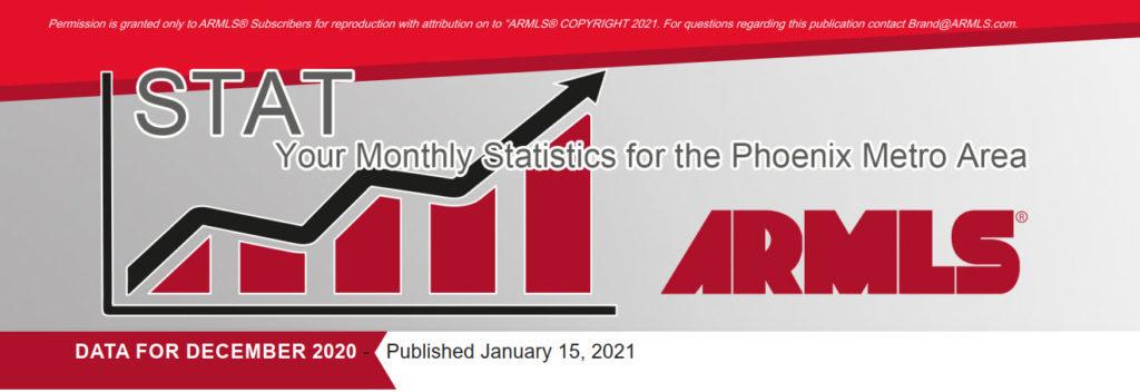 Real Estate Statistics January 2021 Phoenix - Hunter Clark and Nathan Mitchell