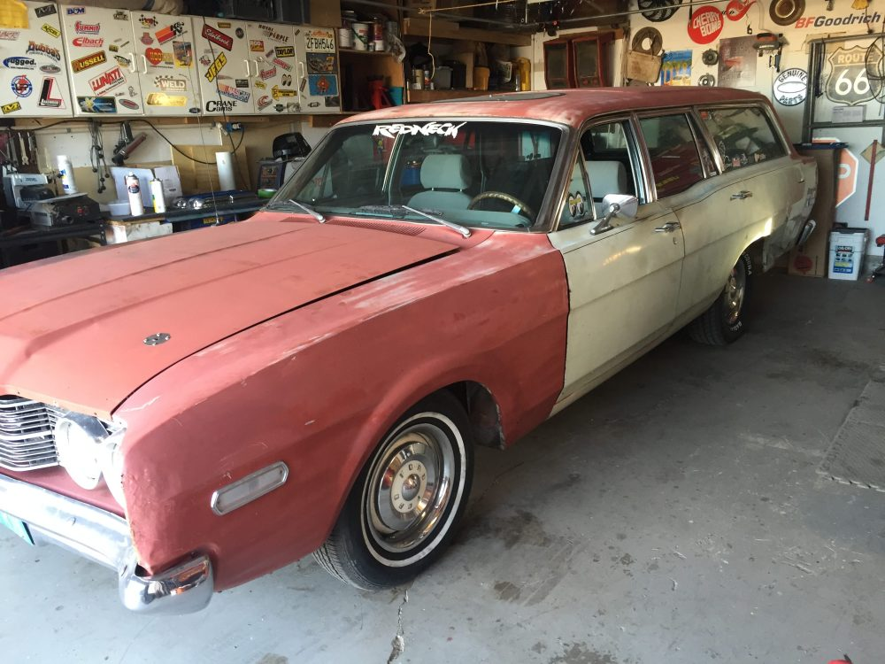 medium resolution of a long time ago i wanted to put a frame under this 1968 mercury montego station wagon at the time my dad ended up getting the wagon back from me