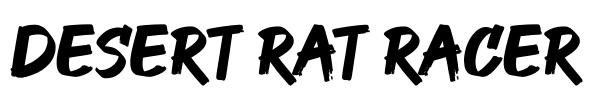 Desert Rat Racer Logo