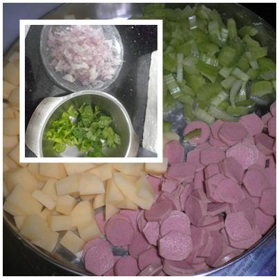 Potato - Bacon Soup (1/3)
