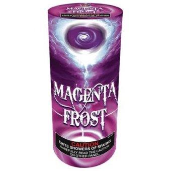 Magenta Frost Fountain Fireworks