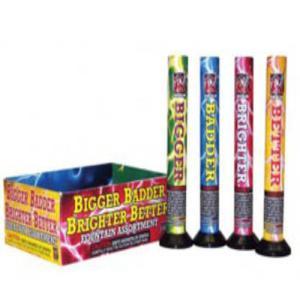 Bigger, Badder, Brighter, Better Fireworks Fountain