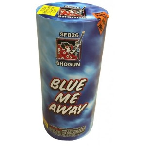 Blue Me Away Fireworks Fountain SF826 Shogun
