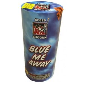 Blue Me Away Fireworks Fountain SF826 Shogun