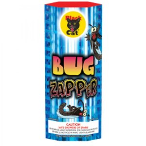 Bug Zapper Fireworks Fountain Black Cat
