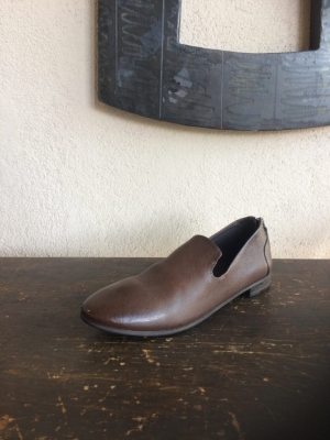 Marsell Back Zip Loafer Chocolat