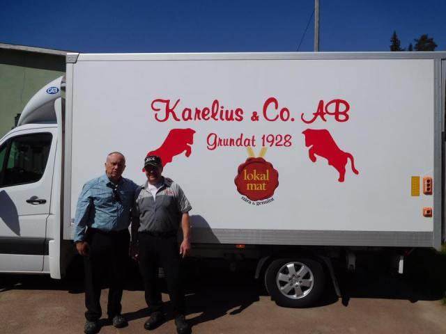 Karelius sausage factory, Lima Sweden