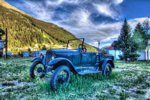 Old Car in Silverton Colorado