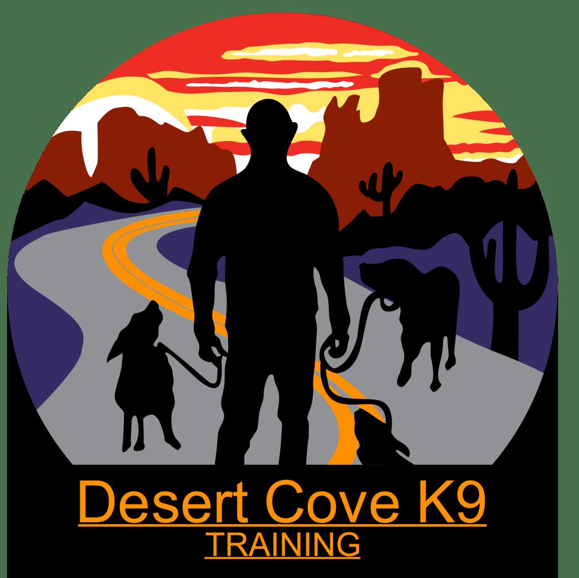 logo for Desert Cove K-9 Dog Training
