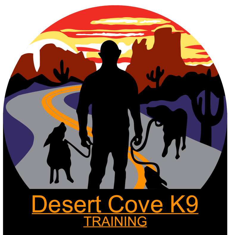 Desert Cove K9 Training logo