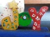 Christmas Past - a treasure made by one of my therapy clients