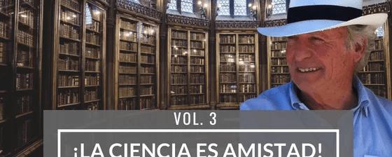 ¡La ciencia es amistad! Entrevista a Antonio Battro