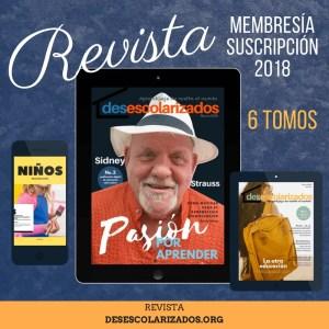 """Suscripción 'la revista"""" 2018"""