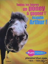 Arthur Fun Radio Poney Familes Livres