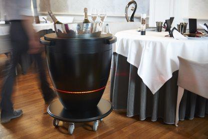 Chariot à Champagne Laurent Saudeau Manoir de la Boulaie