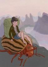A dos de scarabée, ça va toujours plus vite...