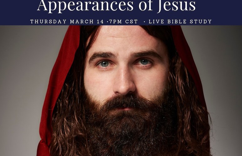 Appearances of Jesus showing His face