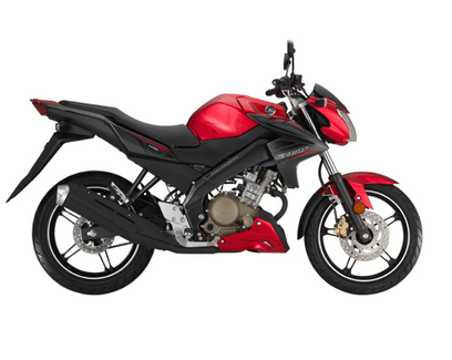 Yamaha FZ150i Red and Black