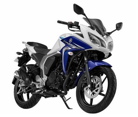 Yamaha Fazer V2 Fi White cloud