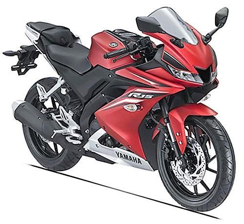 Yamaha YZF R15 V3 Matt Red