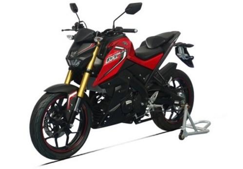 yamaha m-slaz 150 red black