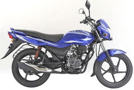 Bajaj Platina 100 ES Light Blue