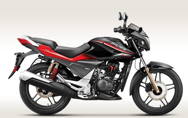 Hero Xtreme sports black and red