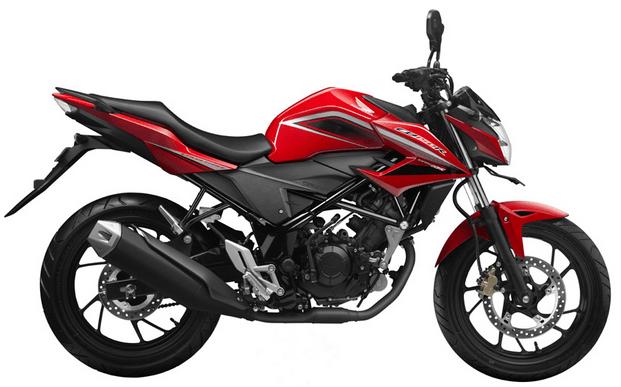 Honda CB150R Streetfire Red