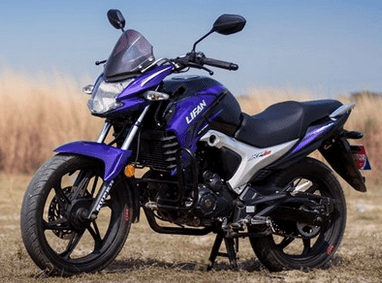 Lifan KP 150 Black and Purple