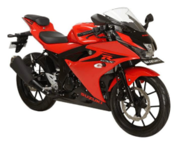 Suzuki GSX-R150 Stronger Red