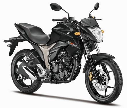 Suzuki Gixxer Black