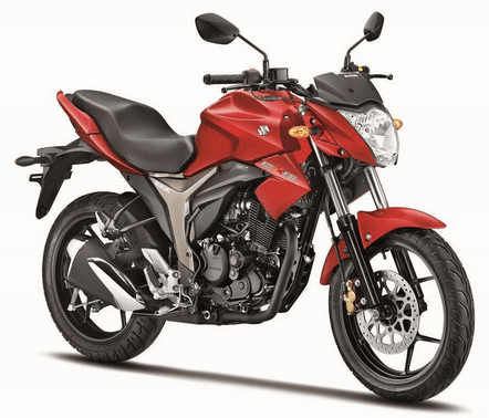 Suzuki Gixxer Red