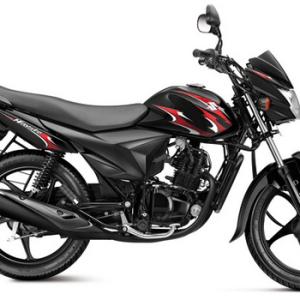Suzuki Hayate black with Red Graphics