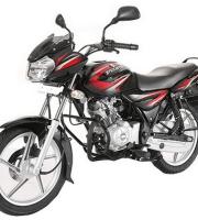 Bajaj Discover 125 Black & Red