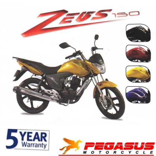 Pegasus Zeus 150 colors