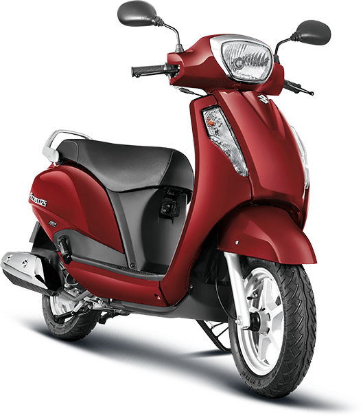 Suzuki Access 125 Red
