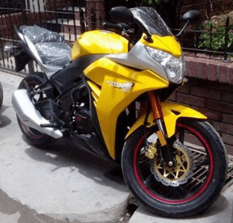 CZ Sports 150 Yellow