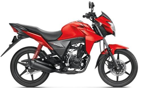 Honda CB Twister Red
